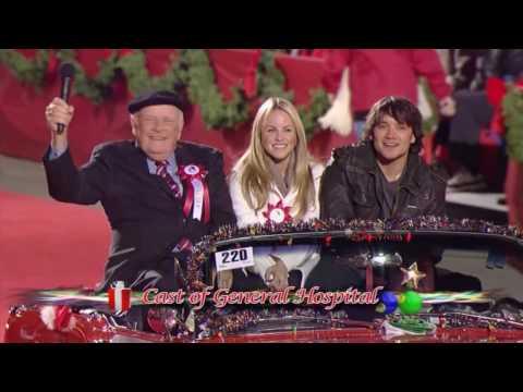 Dominic Zamprogna & Julie Berman 2009 Christmas Parade