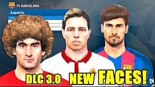 TODAS LAS CARAS (Faces) DEL DLC 3.0 | PES 2017