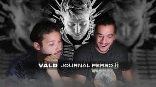 LE MEILLEUR CLIP DE VALD ? JOURNAL PERSO 2 REACTION