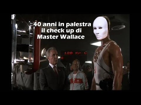 40 anni in palestra il check up di master wallace