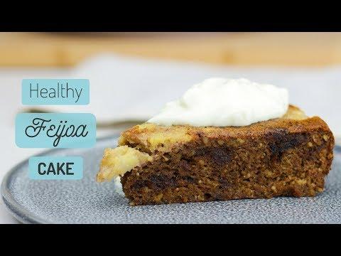 Healthy Feijoa Cake