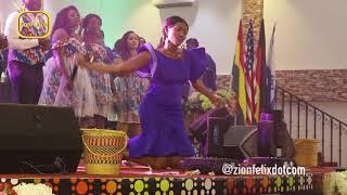 Wendy Shay's Powerful Worship Performance At Church