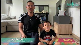 Pilates en Casa - Rutina para Niños con Hugo /3