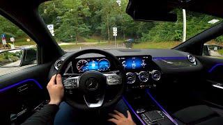 Mercedes GLA AMG Line (2020) - Тест-драйв от первого лица