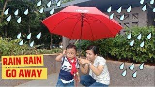 Rain Rain Go Away, Playing with Umbrella and Monkeys