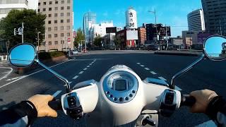 プジョージャンゴ125 田上町〜新潟市 その4