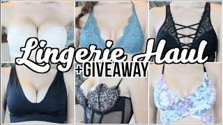 Lingerie Haul +GIVEAWAY! | Carly Renae