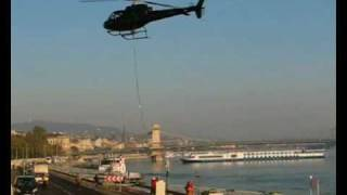 Eurocopter AS 350 Ecureuil HA -ECU helicopter burden increase