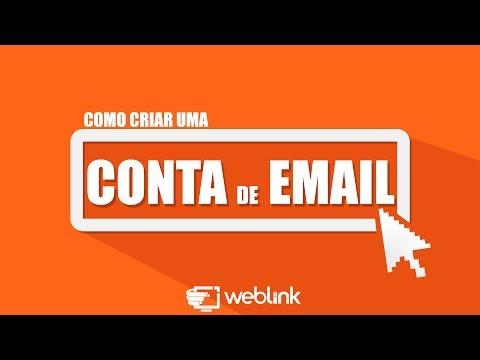 COMO CRIAR CONTAS DE EMAIL - WEBLINK