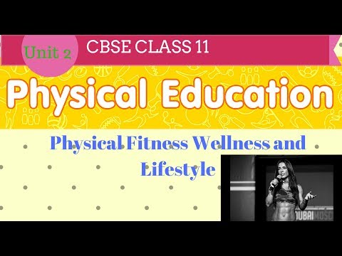 Physical Fitness Wellness and Lifestyle class 11 in hindi