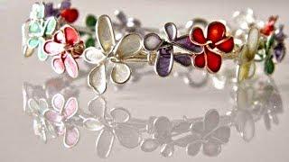 DIY Jewellery - Statement necklace ||nailpolish jewellery ||