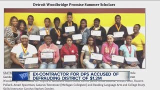 Former agent for Detroit Public Schools charged with stealing more than $1.25 million from district