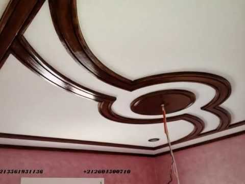 Platre decor youtube for Decoration faux plafond avignon