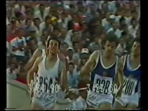 Coe vs.Ovett-1500m.Final,1980,Moscow Olympics,(with interview)