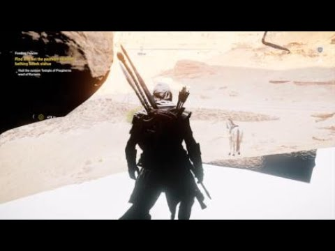 Assassin's Creed Origins - Fall through world bug