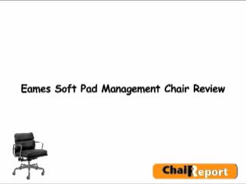eames soft pad management chair review youtube