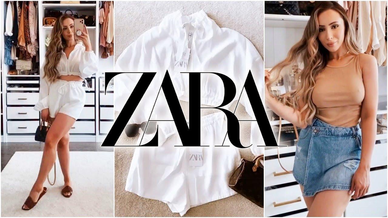 ZARA SUMMER HAUL!!! Bikinis, Jeans, Tops + More 🌻