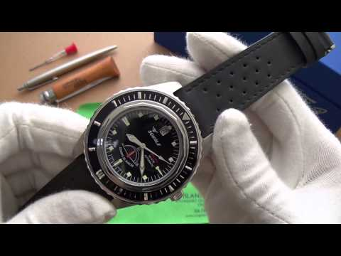 Exclusive Review - The Flagship Squale! - The 600m Master Diver Limited Edition MSTR-Black