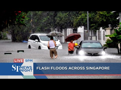 Flash floods across Singapore | ST NEWS NIGHT
