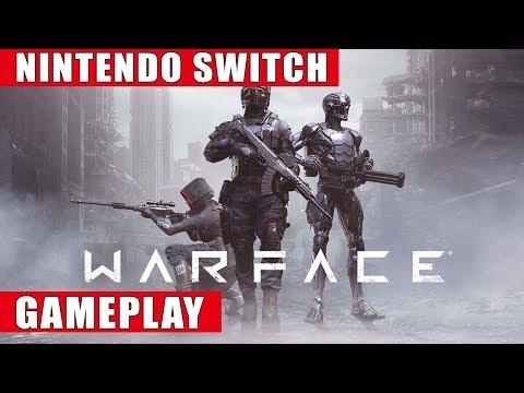 Warface Nintendo Switch Gameplay