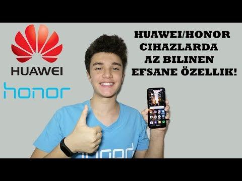 Huawei/Honor Telefonlarda Bulunan Efsane Özellik!