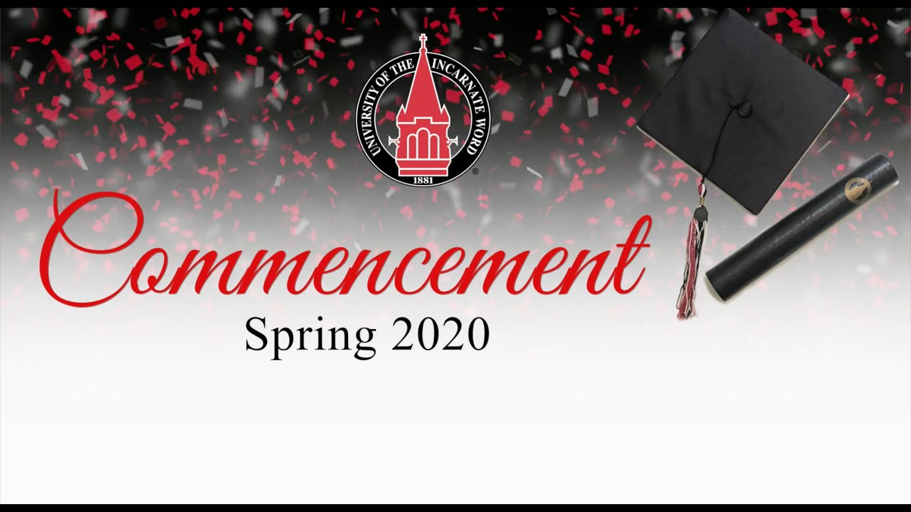 UIW 2020 Commencement - FSOP, RSO and PT