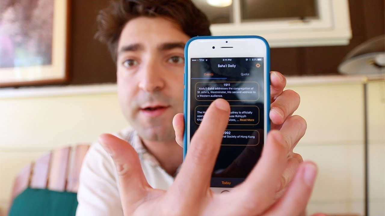 bahai smartphone