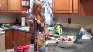How To Make Peanut Butter Cream-filled Devil's Food Cupcakes