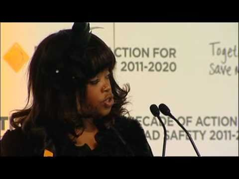 Zenani Mandela Scholarship launched to support UN Decade of Action for Road Safety