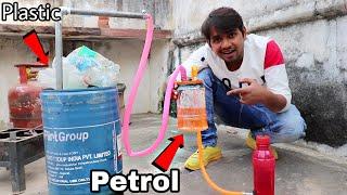 Turning Plastic Into Fขel Like Petrol - Experiment
