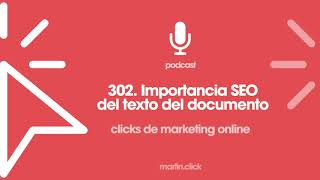 302. Importancia SEO del texto del documento