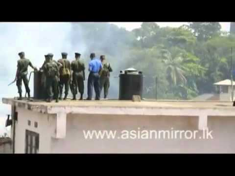 A tense situation in Welikada prison flv