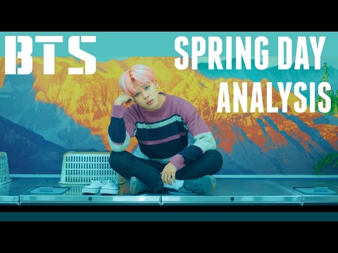 BTS 봄날 Spring Day MV Analysis - How Spring Day Fits In The Story