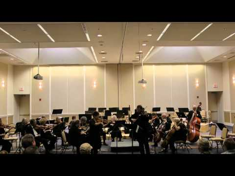 Concert of Jewish community Orchestra, Portland, OR - April 22nd, 2012