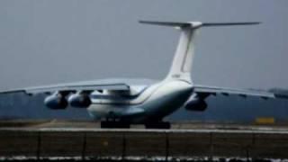 Spotting at Krasnodar Pashkovsky Airport (URKK):IL-76(Ил-76 ТД (RA-76445) авиакомпании AVIACON ZITOTRANS (Авиакон Цитотранс). Компания специализируется на выполнении междуна..., 2011-04-02T11:16:09.000Z)