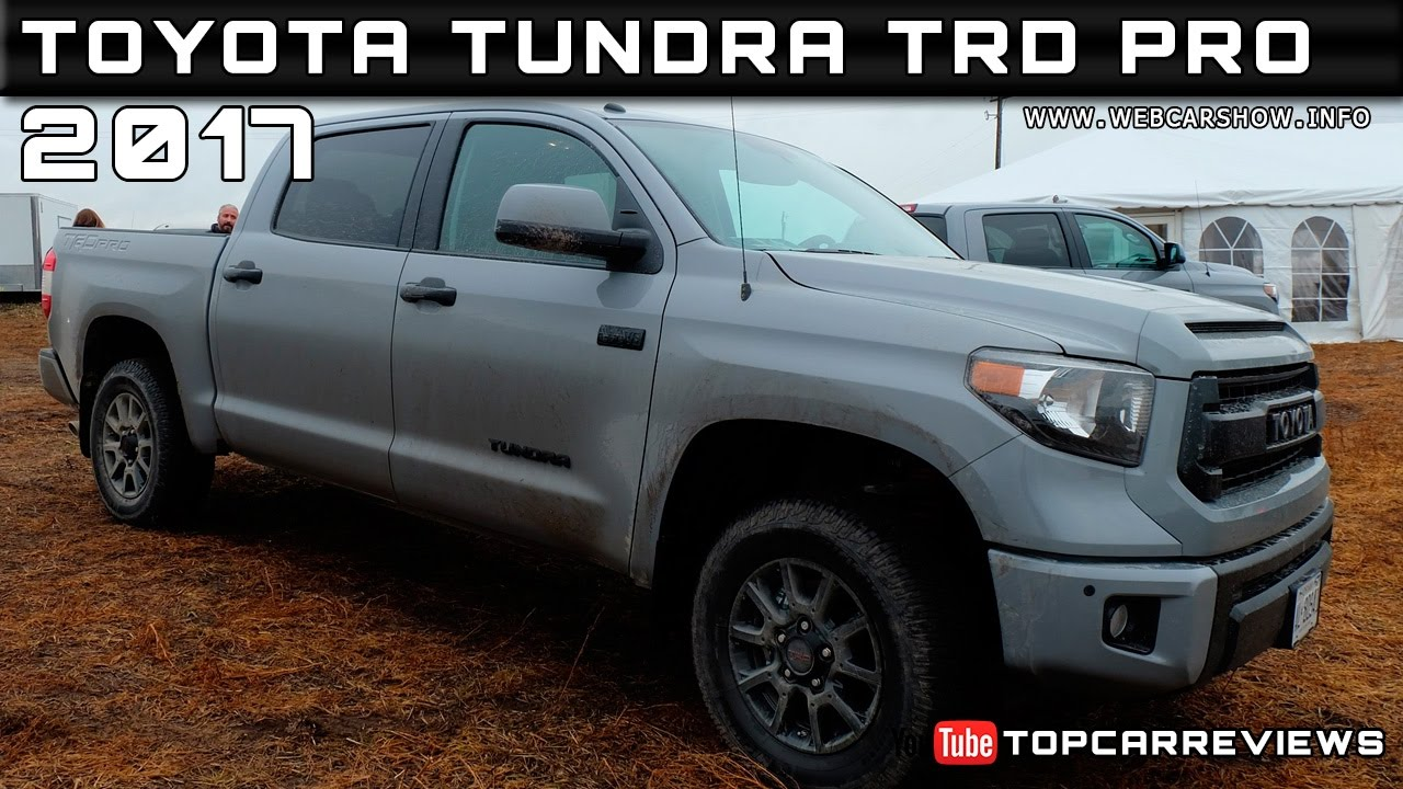 2017 toyota tundra trd pro review rendered price specs release date youtube. Black Bedroom Furniture Sets. Home Design Ideas