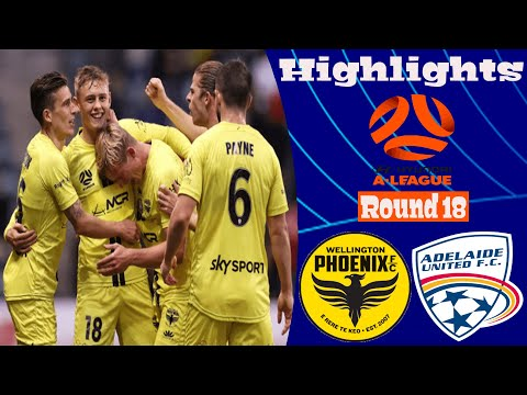 Wellington Phoenix Adelaide United Goals And Highlights
