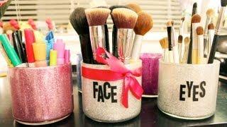 Diy Mod Podge/brush Holders & Holiday Gift Idea!