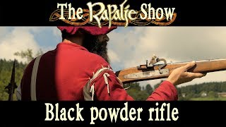 How (not) to shoot a black powder rifle at Highland Games - Rapalje Show #28