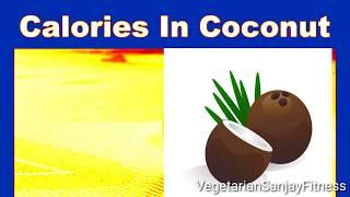 Calories in coconut water