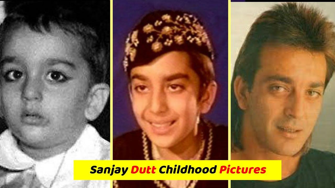 Sanjay Dutt के बचपन की कुछ अनदेखी तस्वीरें | Childhood ...