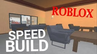 Restaurant tycoon | Speed build Roblox | 3
