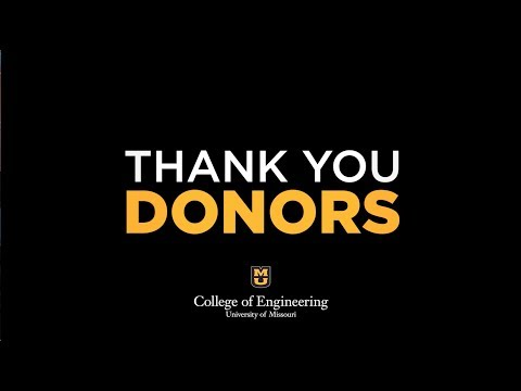 Thank You College of Engineering Donors and Alumni!