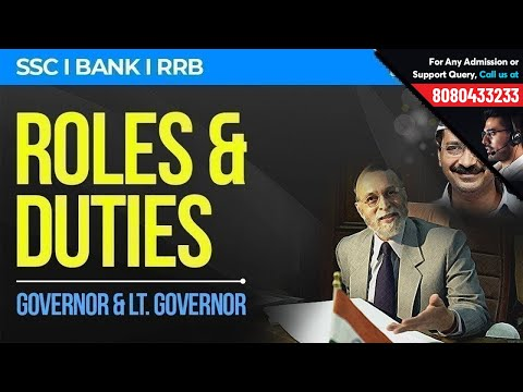 How is Lt. Governor Different from Governor | Roles & Responsibilities | 2-Min GK Notes