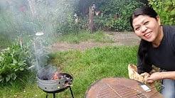 Holzkohle Barbecue Rundgrill Venezuela vom OBI für 4,49 EUR - Taugt der was?