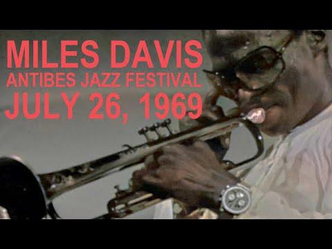 Miles Davis- July 26, 1969 Festival Mondial du Jazz d'Antibes, La Pinède, Juan-les-Pins