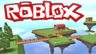 ROBLOX MINECRAFT?!! Building A FARM IN ROBLOX MINECRAFT!!! Roblox Skylands 2 (Roblox Gameplay)