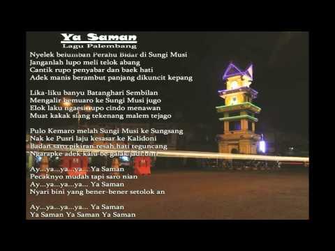 Ya Saman Lagu Daerah Palembang