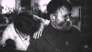 """Отрывок из фильма """"Учитель"""", режиссёр Сергей Герасимов, 1939"""