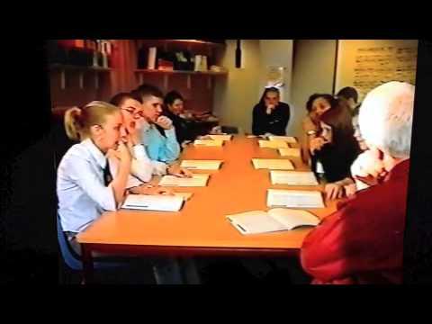 Eastbank Academy - English class